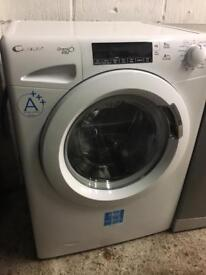 White 8kg 1500 Spin Candy Washing Machine Fully Working Order Just £125 Sittingbourne