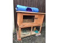 Two storey rabbit/ guinea pig hutch