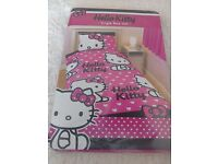 New Hello kitty bed set