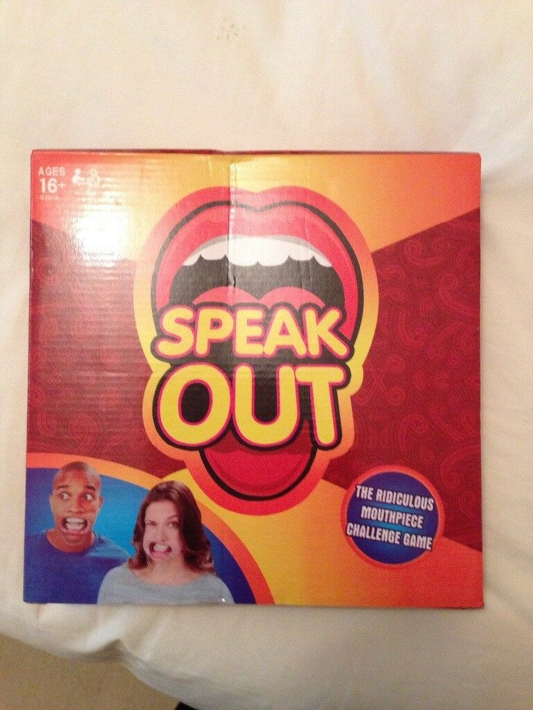 BRAND NEW! Speak Out Challenge Game!