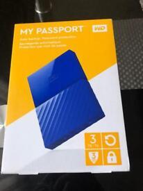 My passport WD 3 TB