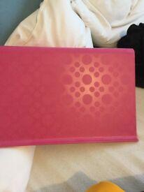 Pink laptop board