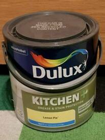 DULUX KITCHEN LEMON PIE MATT EMULSION PAINT 2.5L