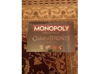 NEW SEALED MONOPOLY: Game of Thrones - collectors edition