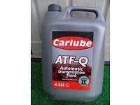 Carlube ATF-Q 4.55L Auto transmission fluid Dexron II - New Sealed