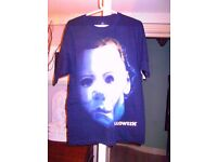 NEW Halloween /Michael Myers T-Shirt from Universal Studios