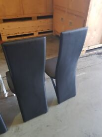 3 excellent condition dining chiars