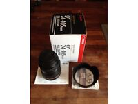 Canon EF 24-105mm lens