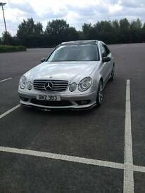 Mercedes Benz E270 Cdi Avantgarde 177BHP AMG Replica, Pan Roof