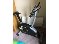 Exercise bike built by Gold's Gym