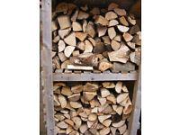 KILN DRIED HARDWOOD FIREWOOD LOGS BULK BAGS wood burner coal fire DELIVERED & STACKED NN113AW