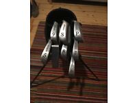 Howson Golf Clubs and Carry Bag