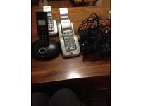 Bt set of 4 cordless phones