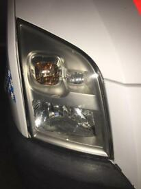 Headlights ford transit mk 7
