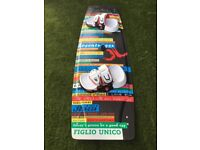 """JN Chit Chat Reloaded 138 with upgraded Naish footpads & straps and Liquid Force 1.5"""" fins."""