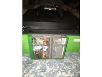 XBOX ONE X HARDLY USED EXCELLENT CONDITION WITH 3 GAMES CHRISTMAS BARGAIN COMES WITH BOX