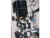 PlayStation 3 with accessories & games