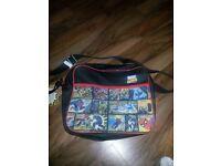 marvel comics school bag