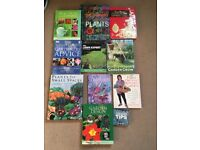 Gardening books (assorted)
