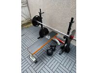 20kg Barbell and Weights