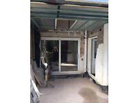 Second hand patio doors 2 m 310 wide 2m 60 height