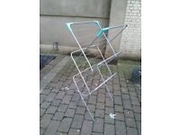 Fold up clothes drying rack central London bargain
