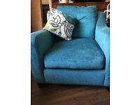 Virtually new armchair