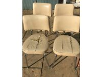 Vintage diner chairs