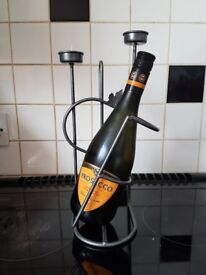 Wine Rack with Tea Lights (Bottle Not Included)