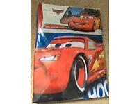 Boys single duvet set - Disney Cars (unopened)