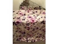 Next home flower curtaina