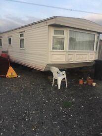 x2 static caravans to rent