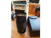 Tamron 80-210mm zoom lens