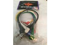 15 packets with six leads in each by Rotosound ! Leads in six colours