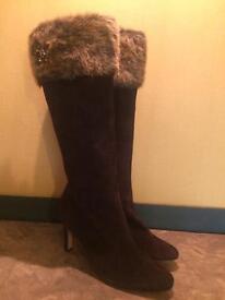 Faux fur LKBenett boots.