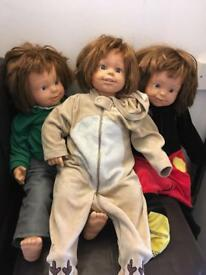 3 Smoby dolls