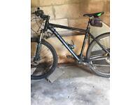 Cube bike mountain bike