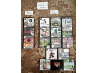 17 PLAYSTATION 1 games - 14 single disks AND 3 double disks