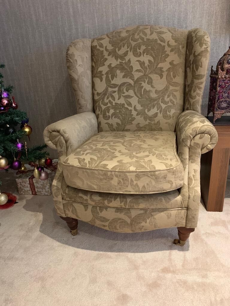 Beautiful High Back Wingback Chair Immaculate Condition In Oadby Leicestershire Gumtree