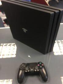 PS4 PRO 1TB JET BLACK 1 IN STOCK