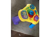 Fisher Price Light and Sound Activity table. Fab entertainment for little one.