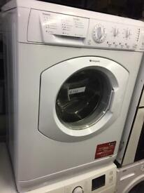 HOTPOINT WASHING MACHINE FULLY WORKING CAN DELIVER £110 g
