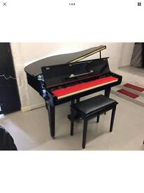 Samick, black digital baby grand piano - DELIVERY AVAILABLE