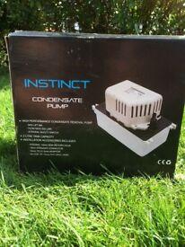 Instinct condensate pump