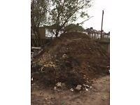 FREE TOP SOIL DUG OUT FROM A FOUNDATION