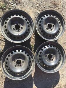 4 roues d acier 15 pouces ford 5x108