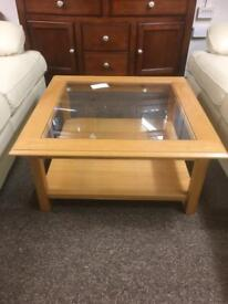 John Lewis solid oak coffee table * free furniture delivery*