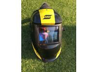 Esab air fed welding mask