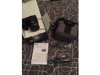Nikon coolpix l340 dslr camera with camera bag