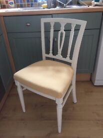 Gorgeous Georgian Dining/Living Chair painted in any colour & reupholstered in any fabric